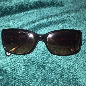 Brown Tortious Coach Sunglasses